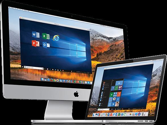 Mac上でWindowsを実行する