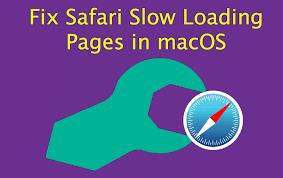在Mac上的safari慢