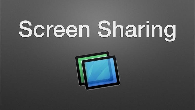 Uso compartido de pantalla de Mac OS X