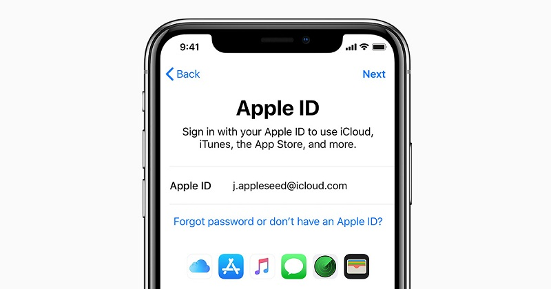 Sign Into Your Apple ID