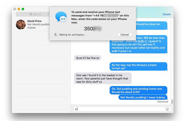 Text From IPhone To Mac