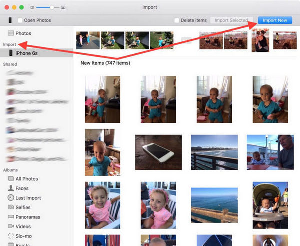 Transfer iphone Videos to Mac Computer Using Photos App