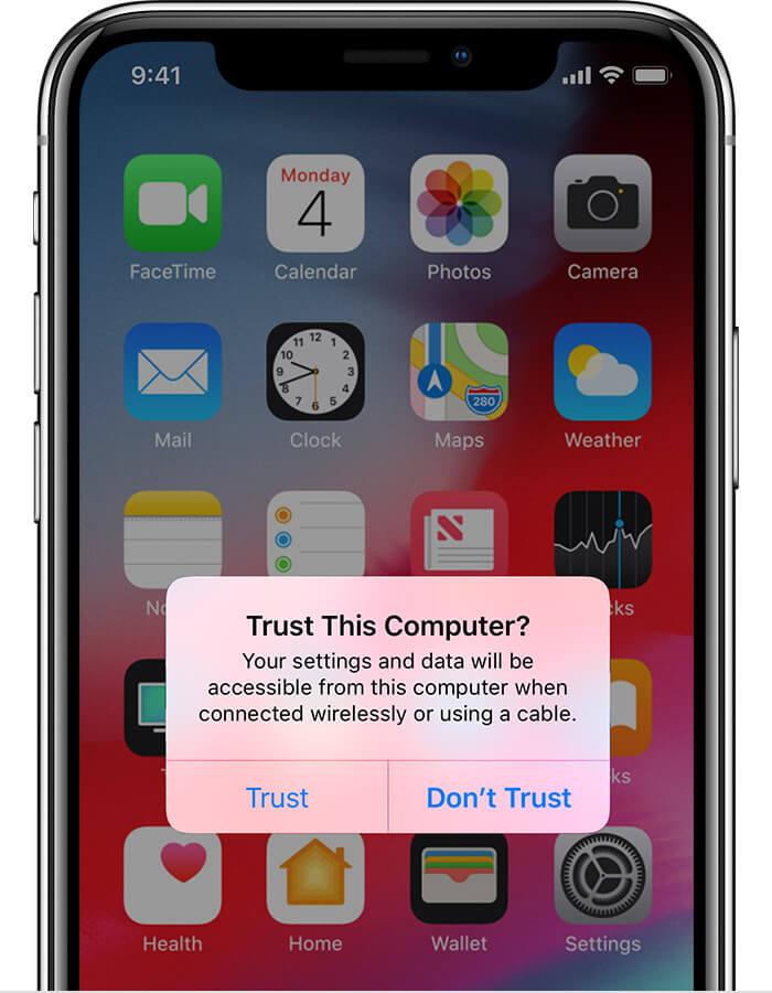 Trust Computer Alert
