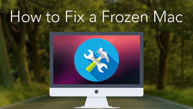Fix Mac eingefroren