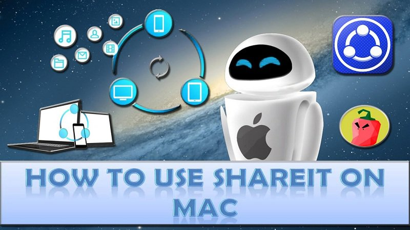 Using Shareit to Transfer Files