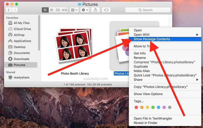 Where Photos Stored on Mac