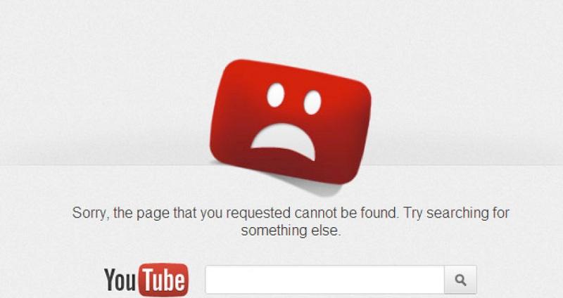 YouTube no funciona