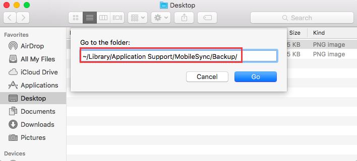 Eliminar copias de seguridad antiguas de iPhone