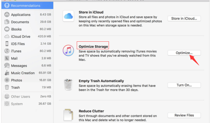 Manage Storage on Your Mac