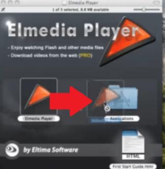 Suchen Sie nach dem Elmedia Player