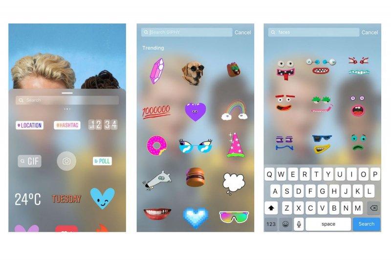 Publica GIF en tus historias en Instagram