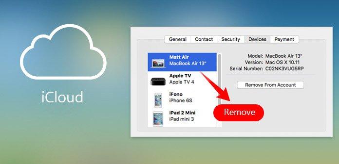Löschen Sie die Mac Association von der Apple ID und dem iCloud Account