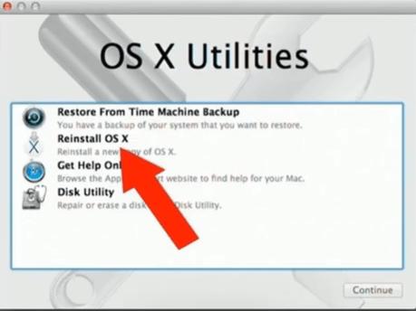 Fahren Sie den Mac herunter und starten Sie ihn erneut