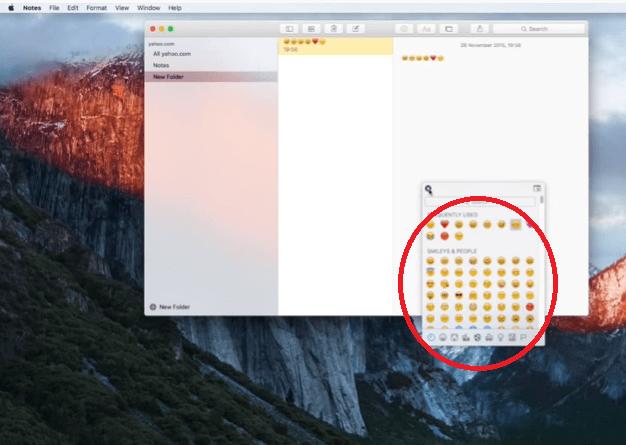 Comience a usar el teclado Emoji en Mac