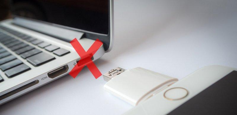Los puertos USB no funcionan en Mac