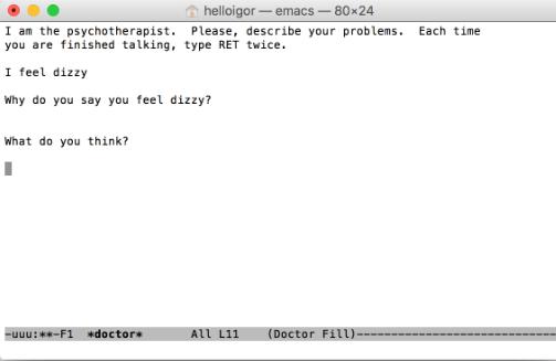 Verwenden Sie Ihren Mac als Psychiater