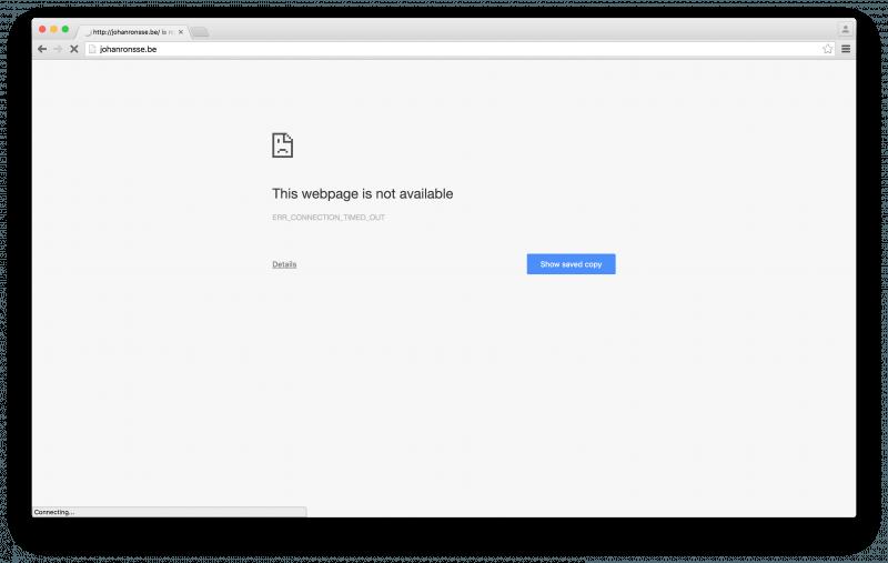 ¿Por qué algunos sitios web no se cargan en Mac?