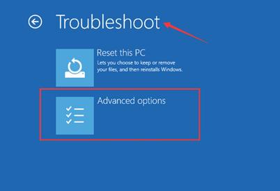 Modo seguro de Windows 8 con funciones de red
