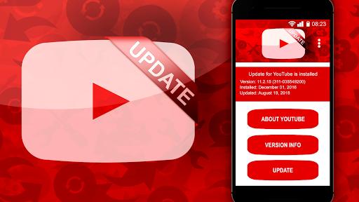 Actualiza tu aplicación de Youtube