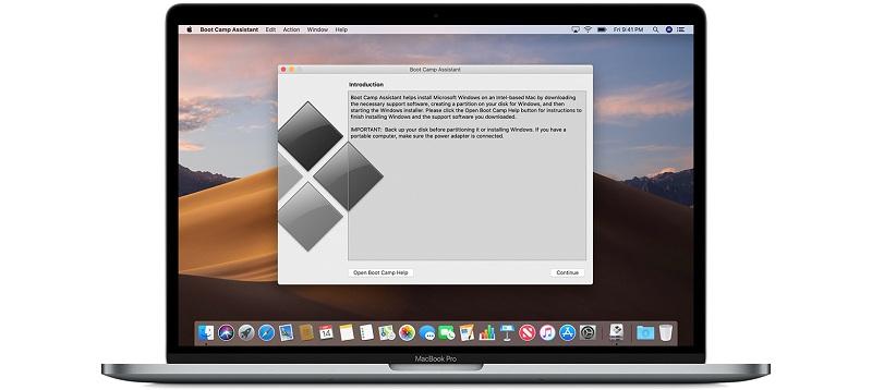 Installieren von Windows auf einem Mac mit Boot Camp