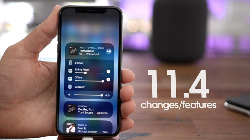 iOS Version 11.4