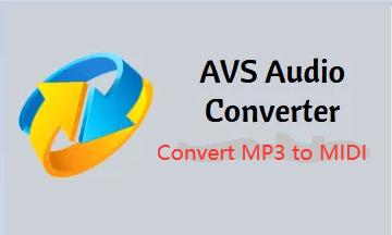 AVS 오디오 변환기