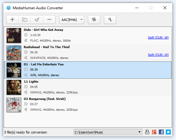 Convert M4A to MP3 Using an Audio Converter